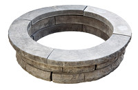 Chiseled Firepit Charcoal